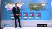 Прогноза за времето (29.12.2014 - обедна)