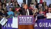 USA: Trump musters thousands of supporters for final campaign rally in Michigan