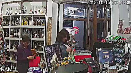 """Жена краде от магазин за алкохол и цигари в жк """"Възраждане"""""""