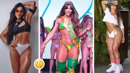 Светът има своята нова Мис Бумбум! Вижте жената с най-красивото бразилско дупе!