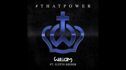 + Bg Превод!!! Will.i.am ft. Justin Bieber - That Power