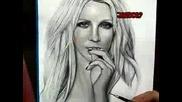 Рисунка на Бритни Спиърс