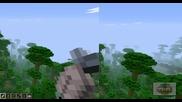 Minecraft-in the jungle