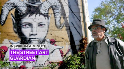 Inspire in a Minute: Zakaria's underground art haven