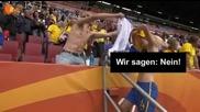 Шведска националка се съблече след мач.06.07.2011