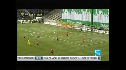 Сент Етиен се класира на фина за Купата на Франция след драма с дузпи срещу Лил