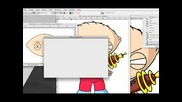 Creating Stewie Griffins Head in Photoshop