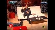 СМЯХ Евгени Минчев Говори На Нед За Глистите - Господари На Ефира 05.12.2008