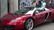 Шегичка с хубавите коли на богаташите..