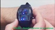 Led часовник - Led Speed Blue