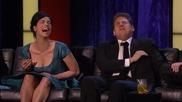 Без цензура: Джеф Рос обижда наред по време на роуста на Джеймс Франко /2013/