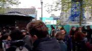 France: Police surround labour reform protesters occupying Salle de la Cite
