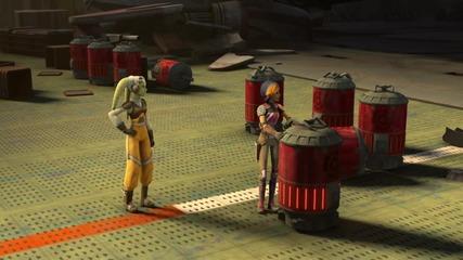 Междузвездни войни - Бунтовниците / Star Wars Rebels/ - епизод 6 (бг аудио) , добро качество