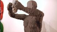 """Нейтън Савая - човекът, който прави скулптури от кубчета на """"лего"""""""