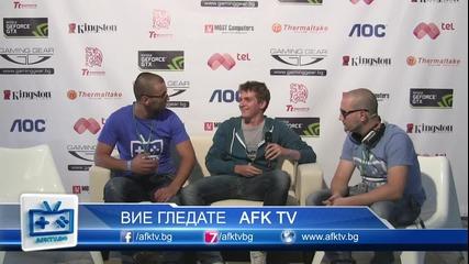 Interview - Giantt vs Ethernal - Starcraft 2 - On! Fest 2013