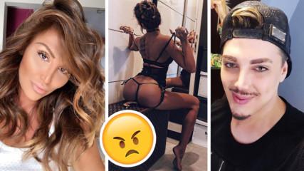 Instagram война: Кулагин и Моника Валериева се обиждат на години, пари...