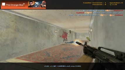 1 oneshot with usp and 3 kills with m4a1