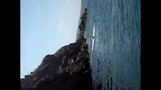 Скок 12 - 13 метра скала в Созопол