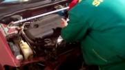 Интеркулер на Nissan Almera N16