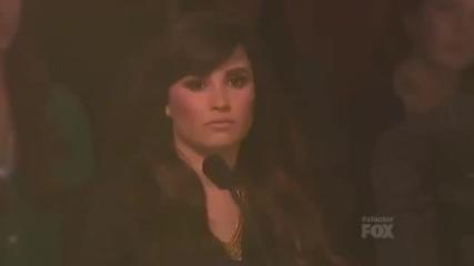 Невероятно изпълнение на 13 годишно момиче Carly Rose Sonenclar - Hallelujah - X Factor Usa Finals