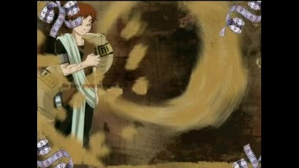 Gaara Of The Sand (the Story)