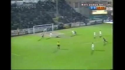 Iker Casillas [top 5 Saves]