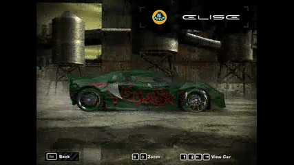 My Nfs Most Wanted Cars 2 (hq)