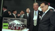 Brazil: Li Keqiang opens exhibit of Chinese goods and manufacturing in Rio