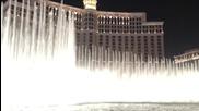 Фонтаните на Bellagio в Лас Вегас танцуват под звуците на Tiesto