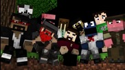 Animation Spotlight Where Them Mobs At - David Guetta Minecraft Parody by Rusplaying