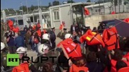Greece: Tsipras jeered by pro-refugee protesters outside Lesbos refugee camp