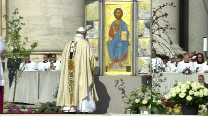 Holy See: Pope Francis delivers Easter Sunday mass at St. Peter's Square