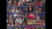 Smackdown 28 08 09 - Melina vs. Layla