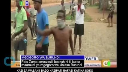 Regional Leaders Urge Postponement to Burundi Presidential Elections
