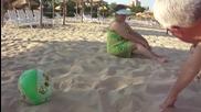 лазим по пясъка