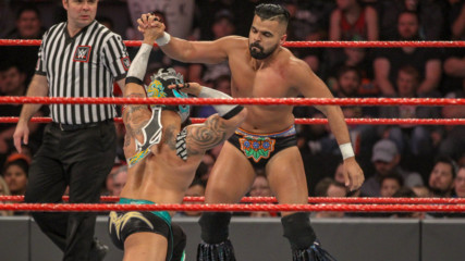 Lucha House Party vs. Jinder Mahal & The Singh Brothers: Raw, Jan. 21, 2019
