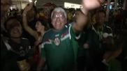 Мексиканците вдъхновени от победите в Бразилия