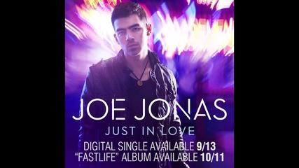 Joe Jonas - Just in love :p