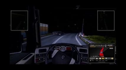 Euro Truck Simulator Епизод 3 (themorfeiii) До Linz + Инцидент