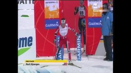 Норвежката Йохауг стана световен шампион на 10 км свободен стил