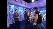 El Hormiguero Marron proves his effect with Tokio Hotel as witness