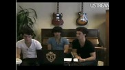 Jonas Brothers Live Chat - answering calls from say now 1 (hq) 572009