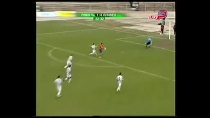 Футбол, България Локомотив (пд) - Сливен 2:1 / 06.03.2009 slice