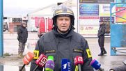 Russia: Mourners honour firemen who lost their lives in warehouse blaze