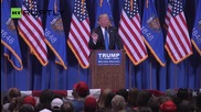 Trump Tears Into Kasich at Wisconsin Rally