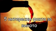 5 интересни факта за виното