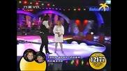 Тони Димитрова и Анжело с песента Ако си дал-Финала на Пей с мен 09.06.08 *HQ*