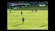 Everton 3 – 1 Manchester United 20.02.2010 Гол на Rodwell