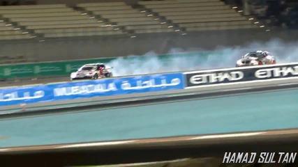 (hd) Formula Drift In Yas Marina Circuit 2011