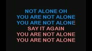You are not alone Karaoke